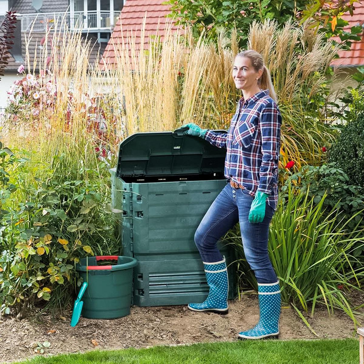 Komposter Thermo King, 900 l, grün | #3