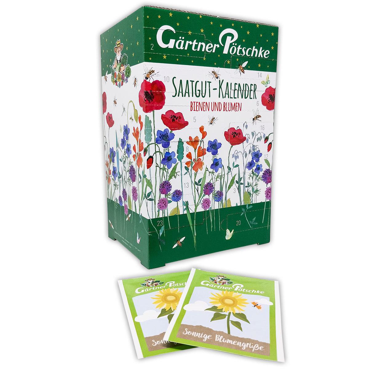 Saatgut-Adventskalender Bienen & Blumen   #3