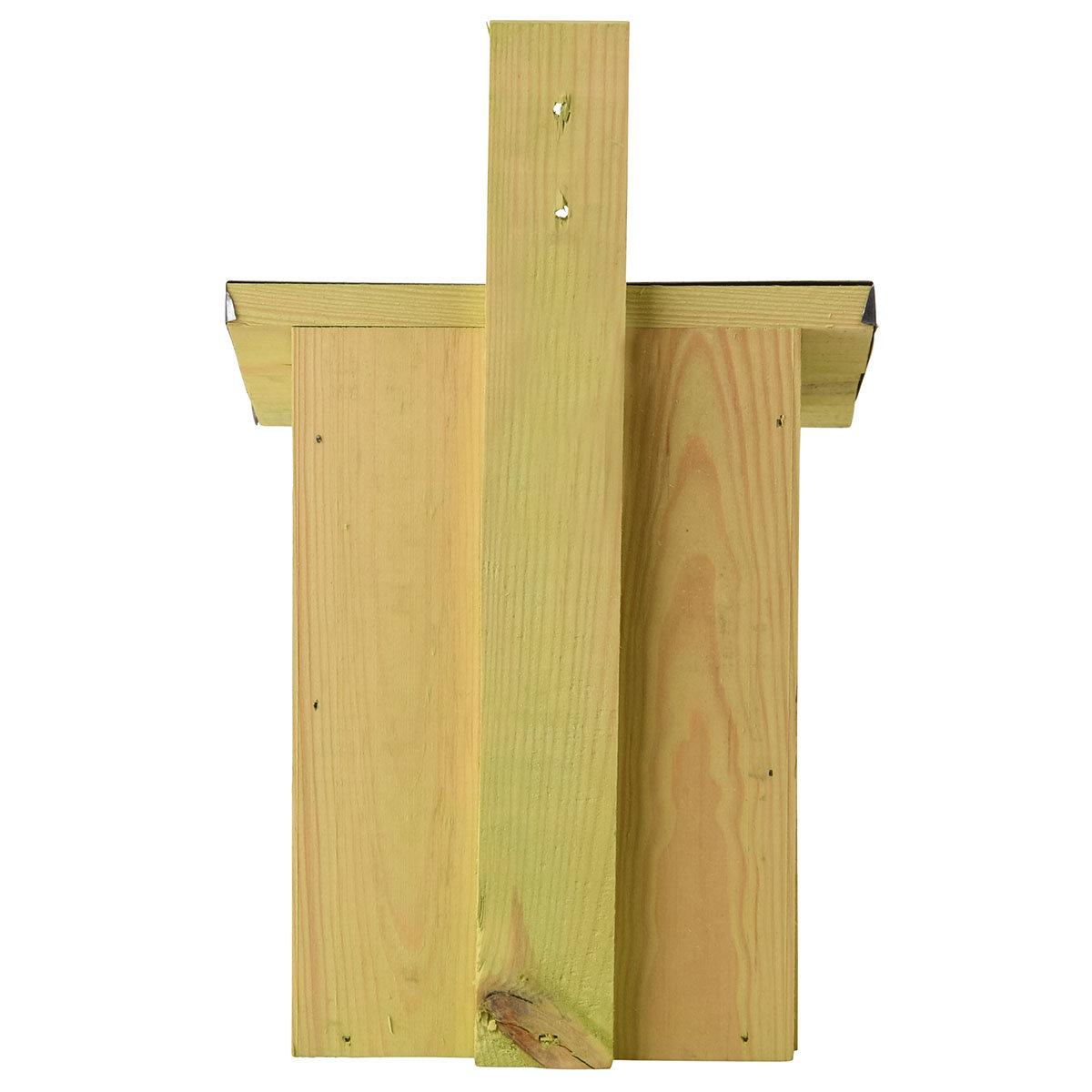 Nistkasten Rotkehlchen mit Zinkdach, ca. 21 x 19 x 33 cm | #3
