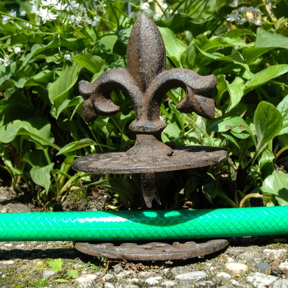 Gartenschlauchführung Nostalgie, Gusseisen | #3