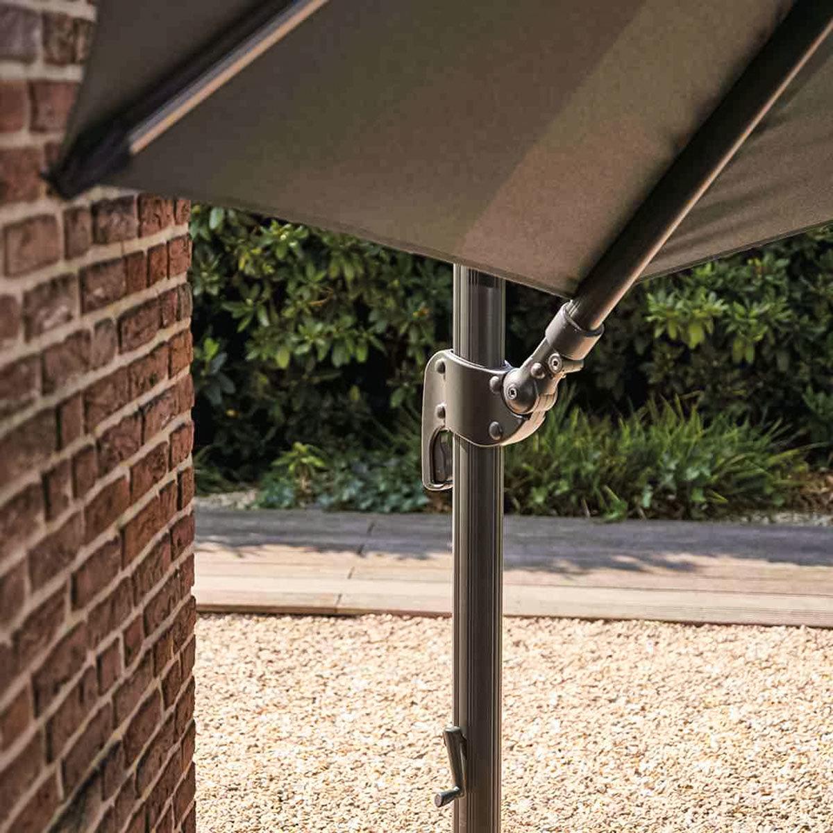 Sonnenschirm Alphawing N+ Ø 3,5 m, grau   #3
