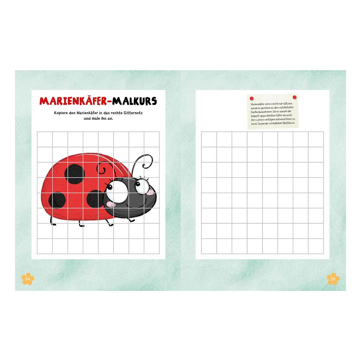 Mein Bienen, Käfer und Igel-Mitmachbuch | #3