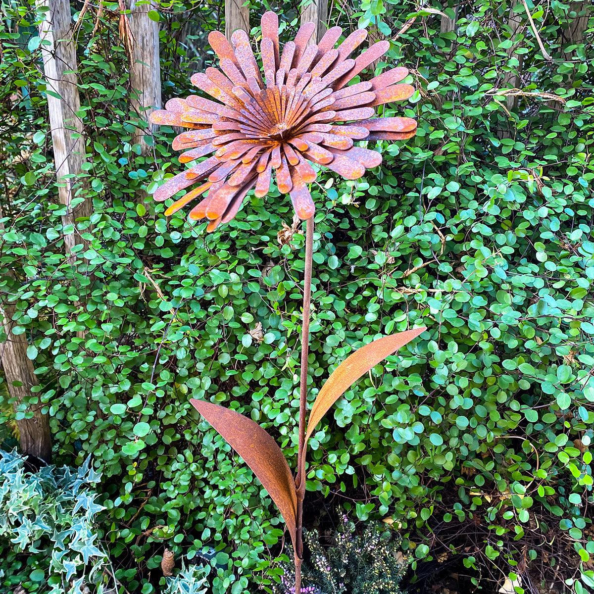Gartenstecker Sonnenschein, Edelrost | #3