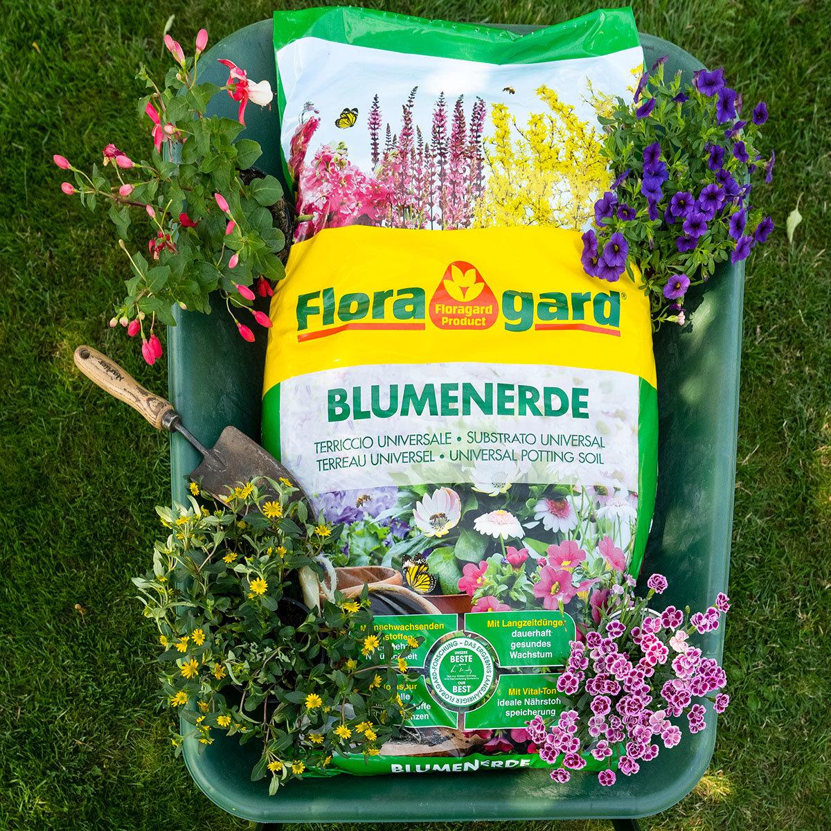 Großgebinde Blumenerde, 21 Säcke á 70 Liter | #3