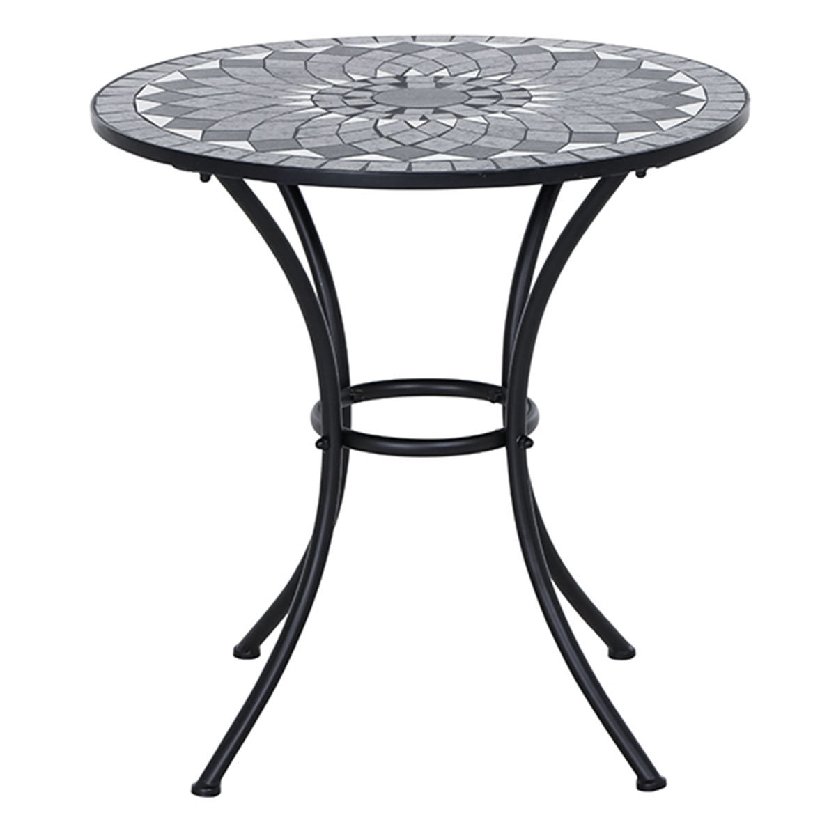 Bistrotisch Mosaik, Stahlgestell mit ca. 60 cm Tischplatte | #3