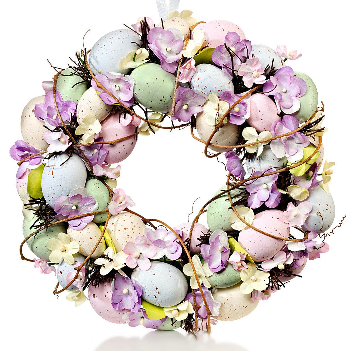 Türkranz romantische Ostern,  ca. 30 cm | #3