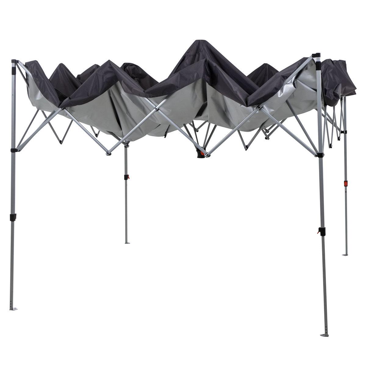 Faltpavillon EasyUp, 300x300 cm, anthrazit | #3