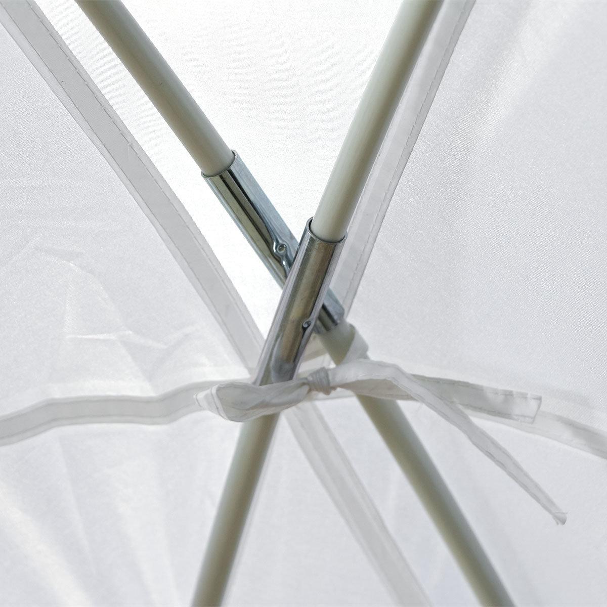 Eventzelt Roma, 320x320 cm, weiß | #3
