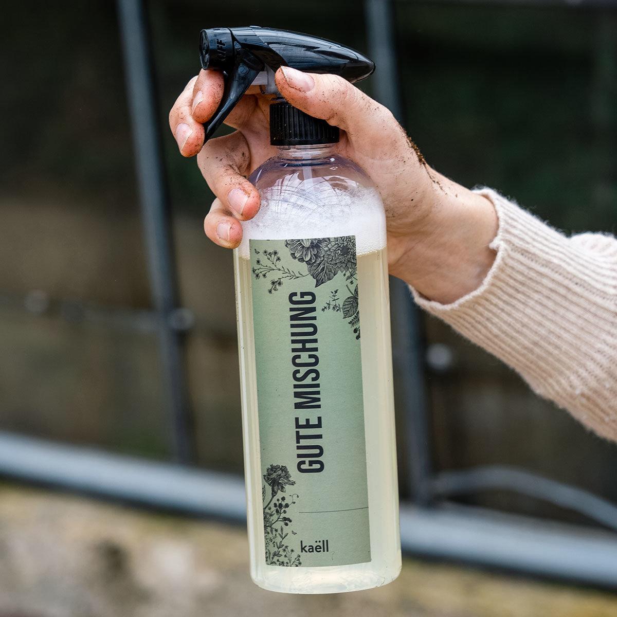 Mischflasche Gute Mischung Garten für Konzentrate, mit Sprühkopf, 750 ml | #3