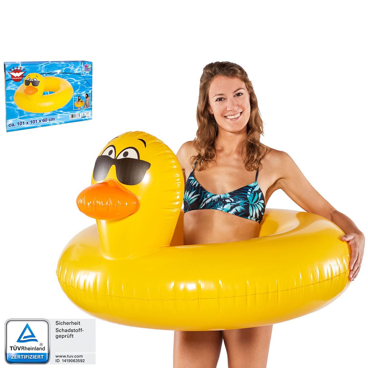Schwimmring Ente, 101x101x60cm | #3