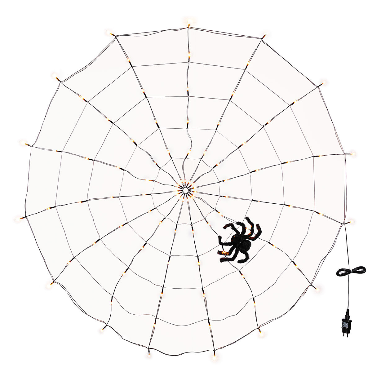 LED-Spinnennetz mit Spinne   #3