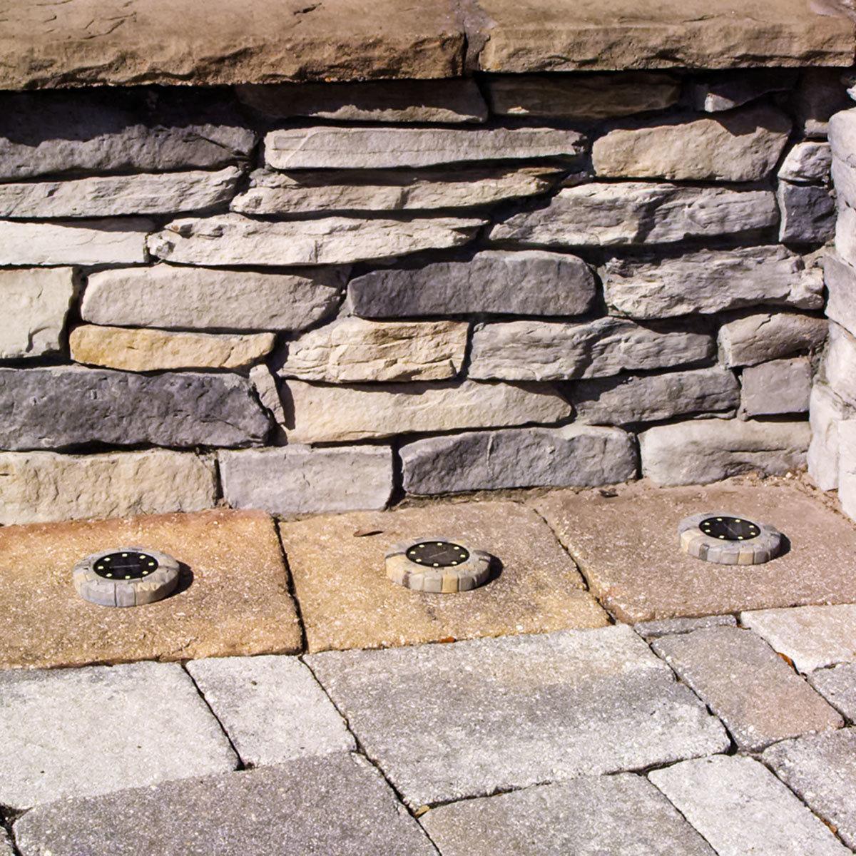 Disk Light Stone Gartenbeleuchtung, Solar, 4er Set | #3