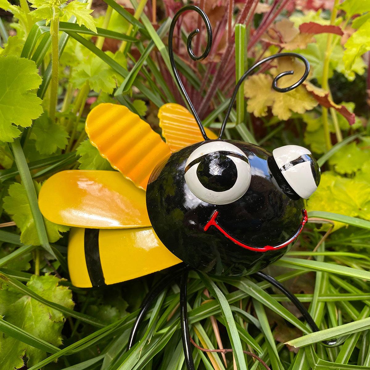 Biene Berta und Bruno, stehend, Metall   #3