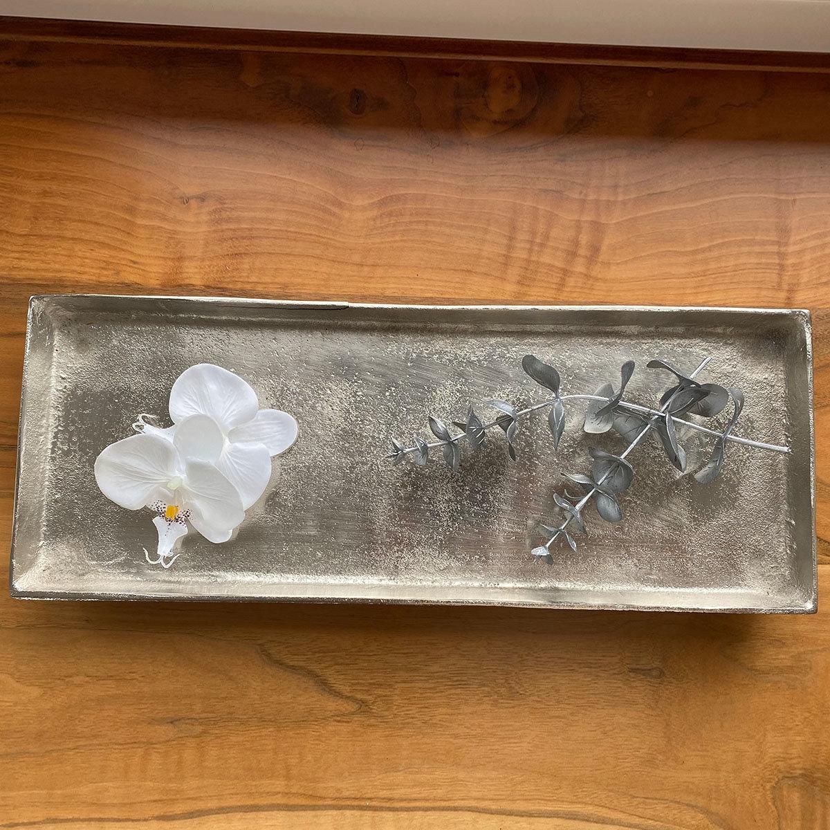 Stilvolles Tablett, 32x15x3 cm, gold | #3