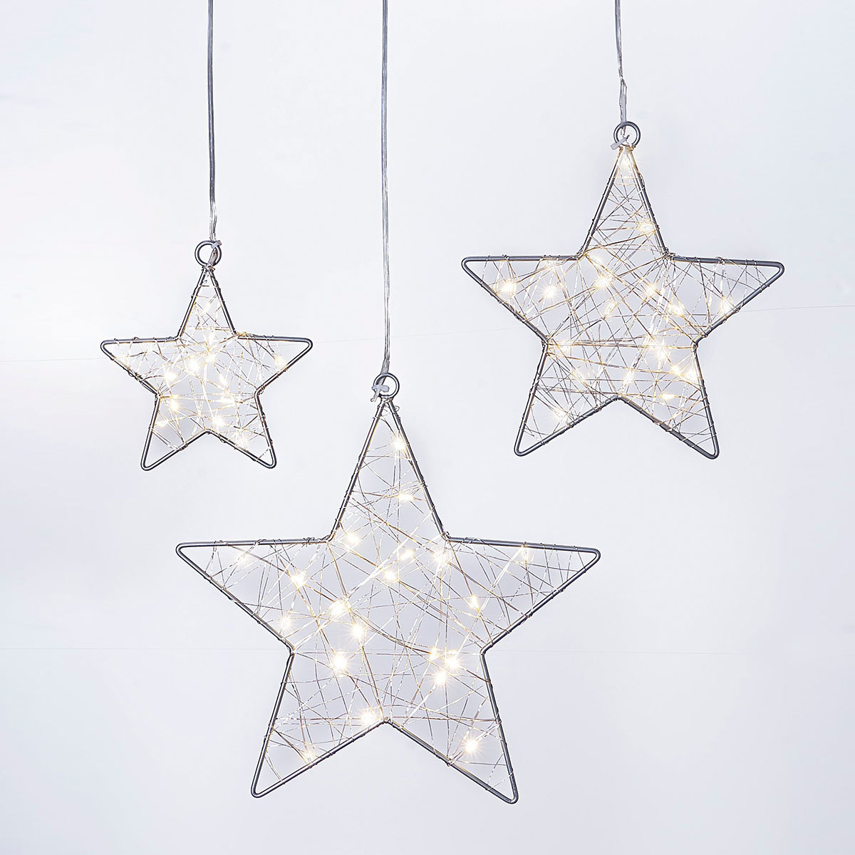 LED-Hängedeko Stars, 3er Set | #3