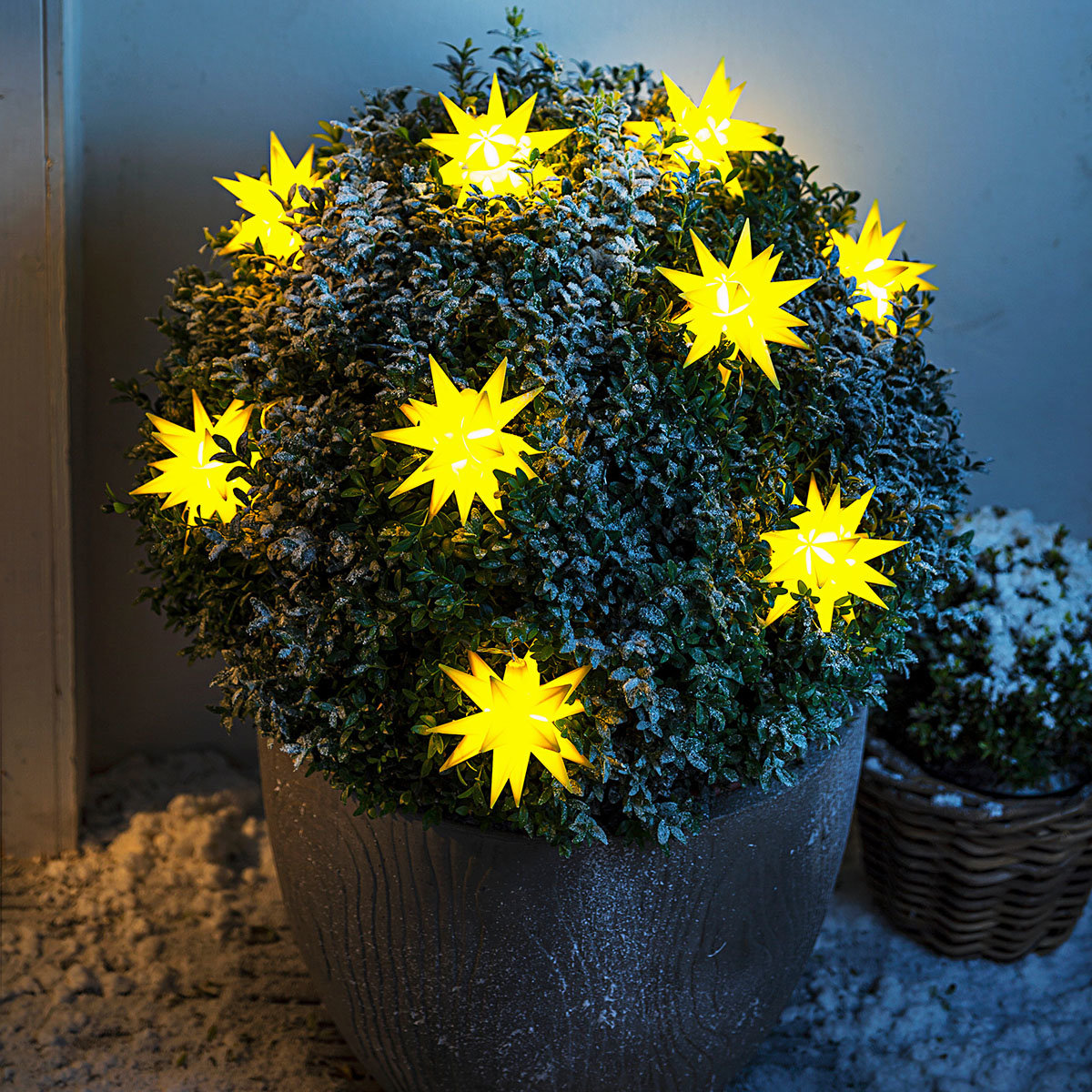 LED-Lichterkette Weihnachtstern, gelb   #3