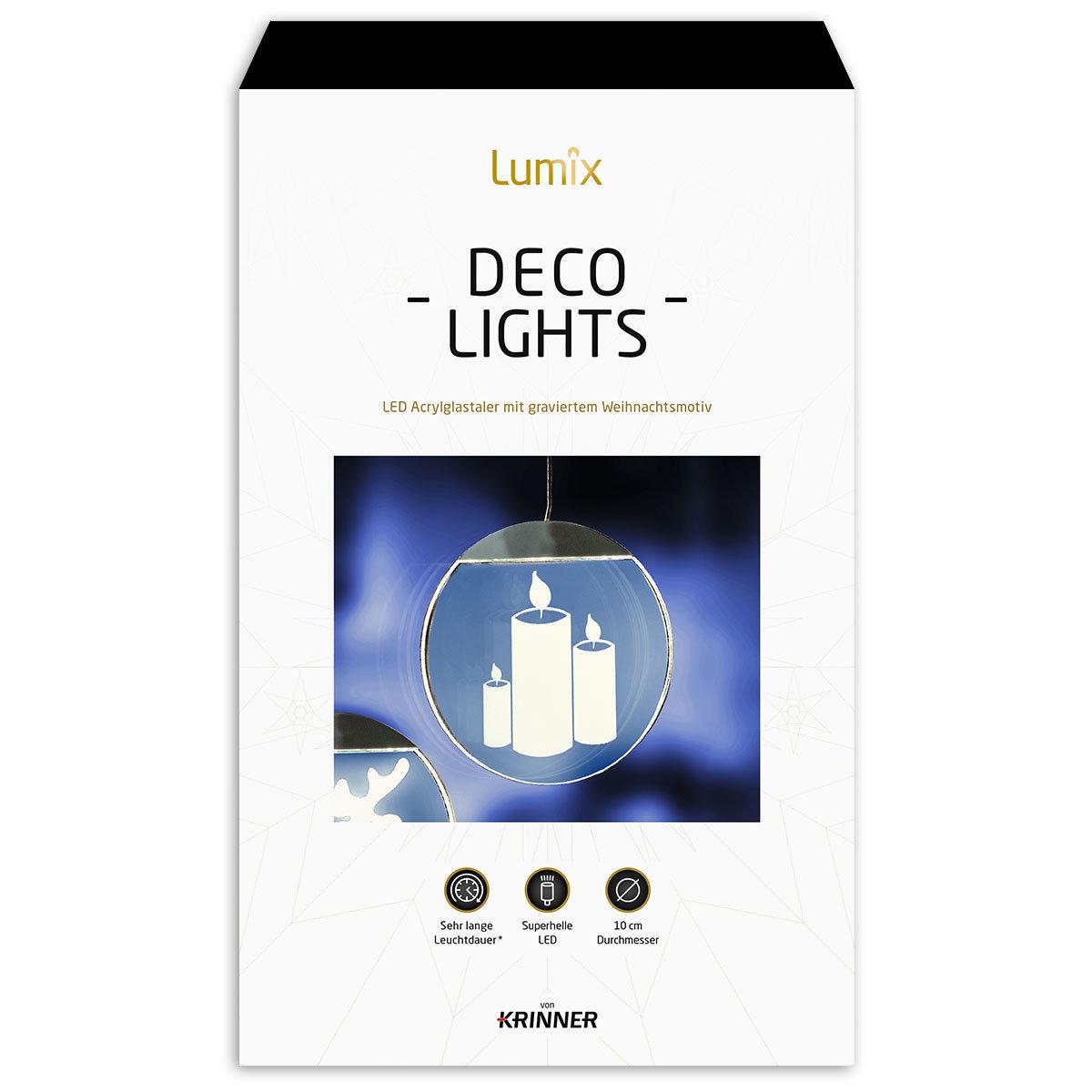 Deko-Lights Kerzen, silber, Ø 10 cm | #3