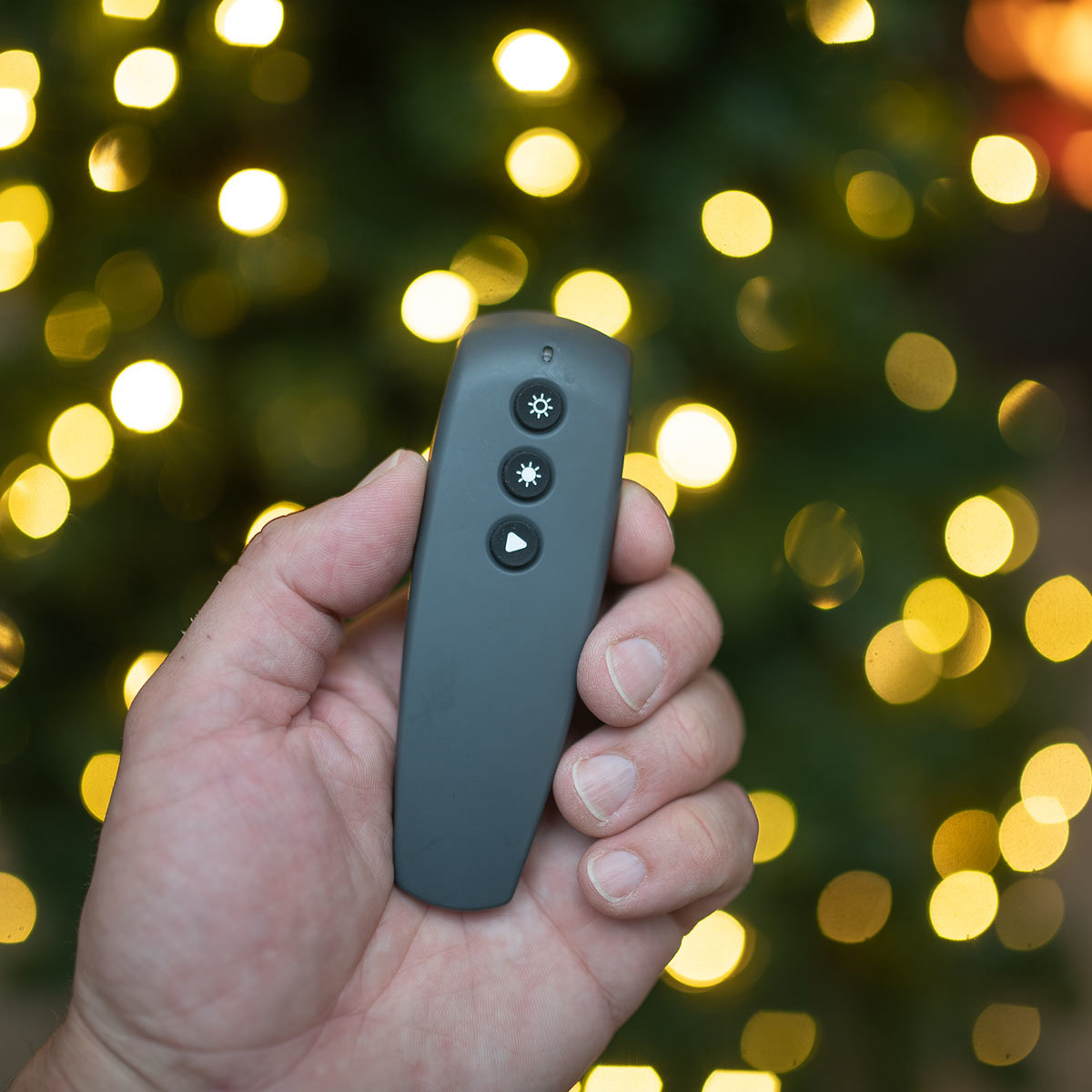 Künstlicher Weihnachtsbaum Kiefer mit LED-Beleuchtung, 180 cm   #3