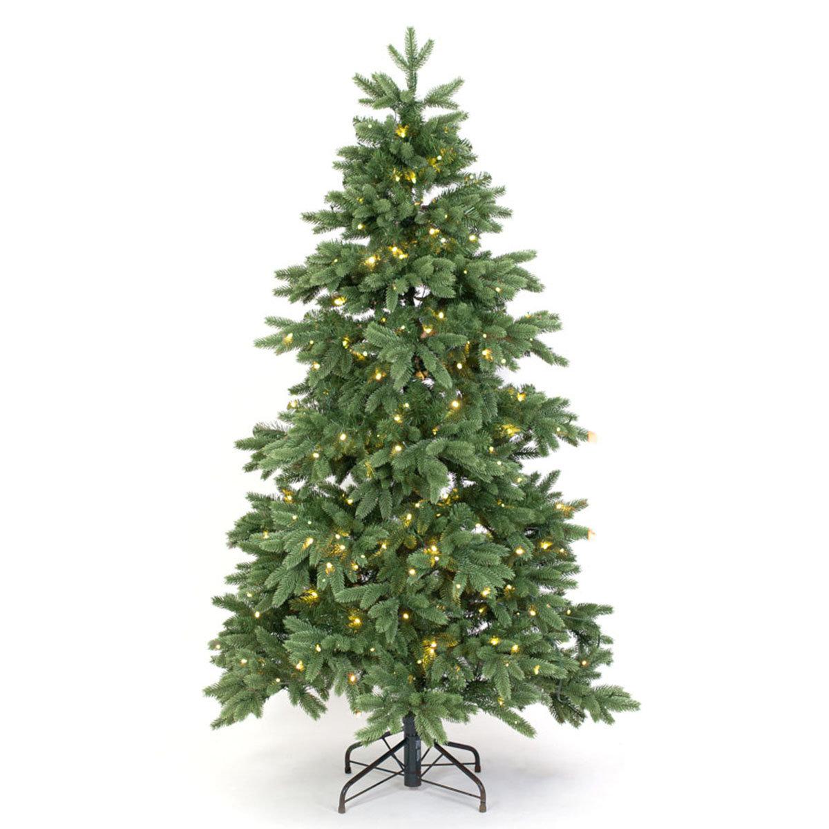 Künstlicher Weihnachtsbaum Kiefer mit LED-Beleuchtung, 180 cm | #3