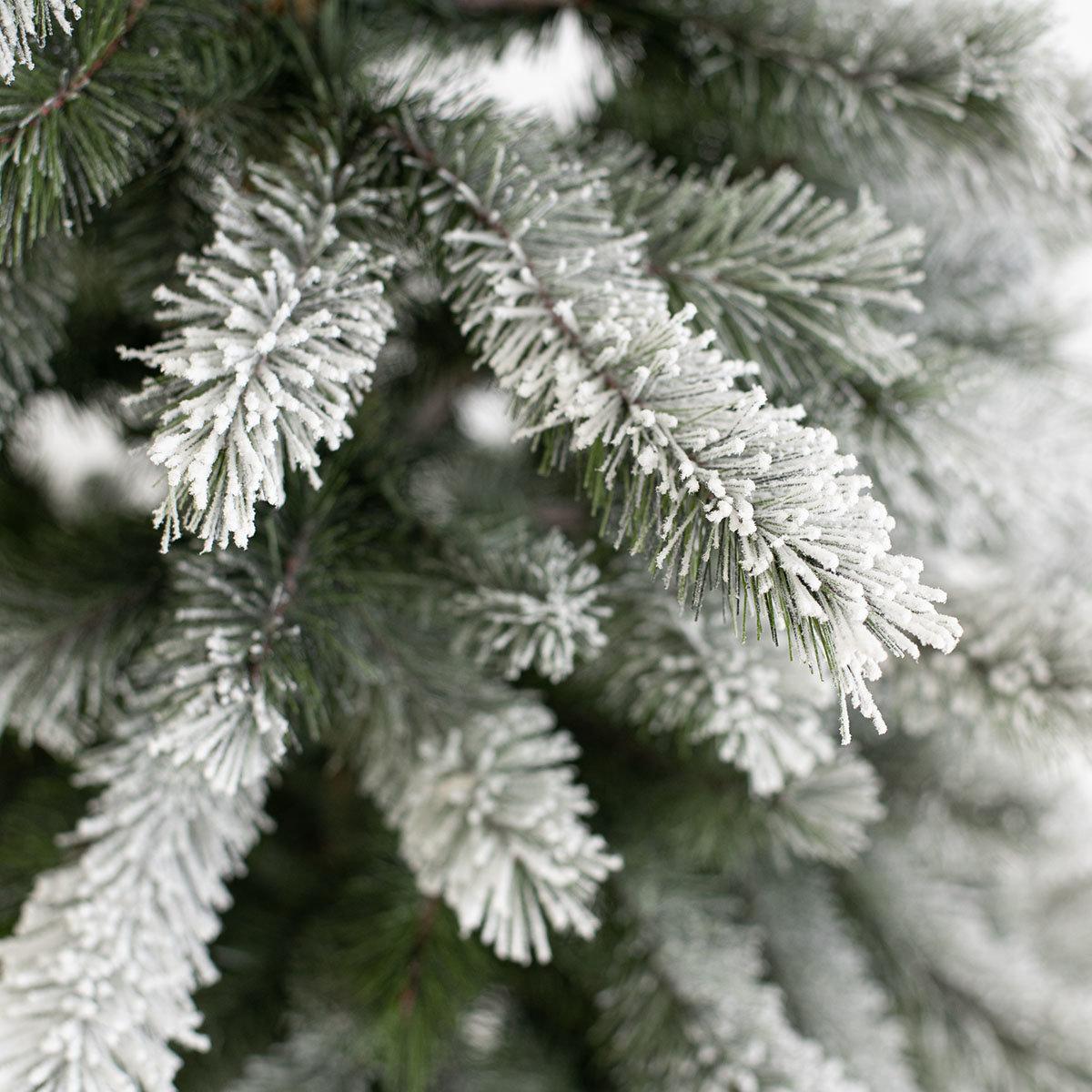 Künstlicher Weihnachtsbaum Kiefer mit Schneeoptik, 210 cm | #3