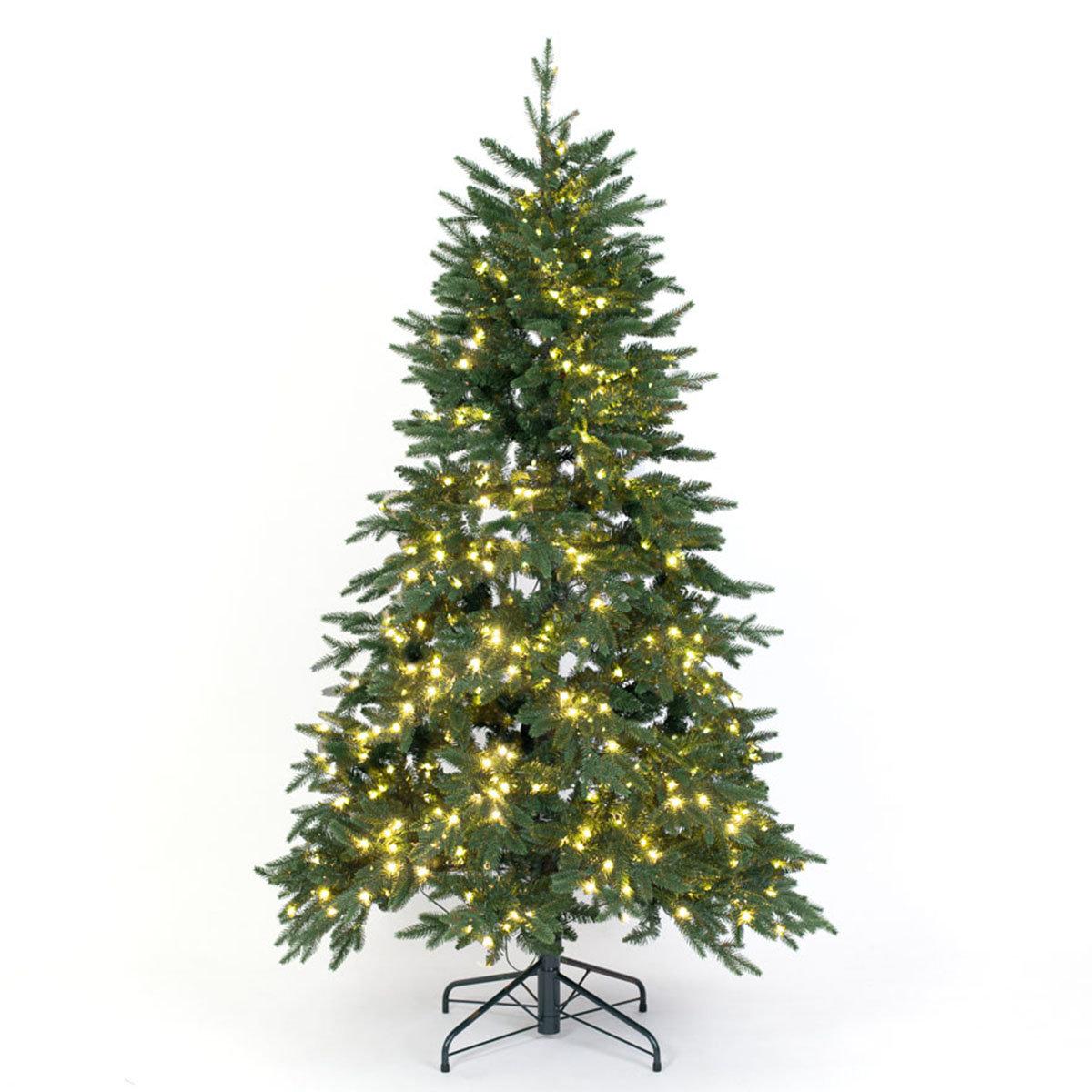 Künstlicher Weihnachtsbaum Fichte, mit LED-Beleuchtung, 150 cm | #3