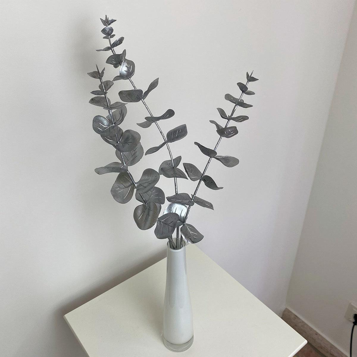 Kunstpflanze Eukalyptuszweig, silber | #3