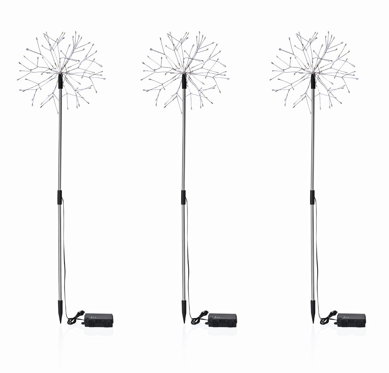 LED-Gartenstecker Pusteblume, 3er- Set | #3