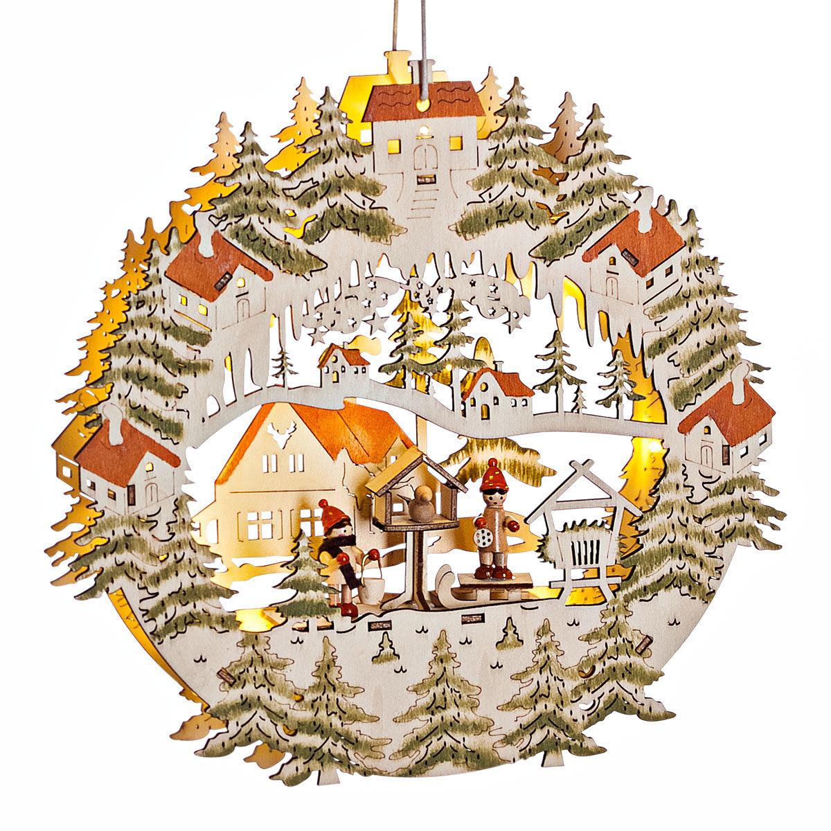 LED Hängedeko Weihnachtsdorf | #3