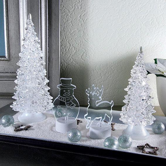 LED-Winterlandschaft, 4er-Set   #3