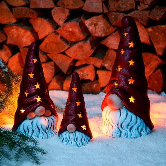 Weihnachtswichtel Knubbi, mittel | #3