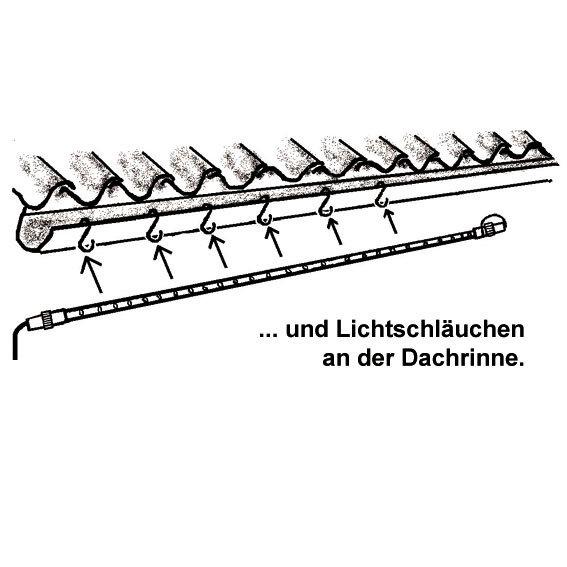 Dachrinnen-Haken, 10 Stk. | #3