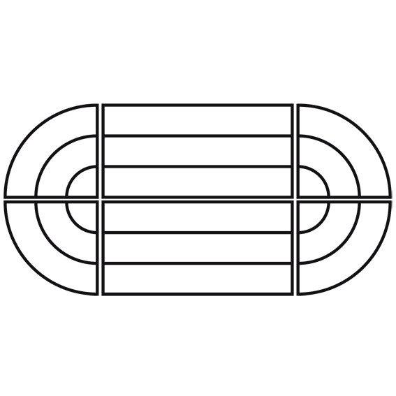 Pflanzregal-Kombi-Set, länglich, grün   #3