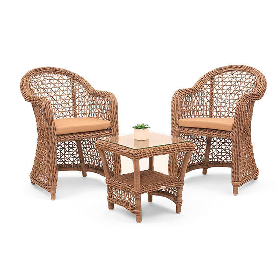 outdoor rattan tisch malaga inkl glasplatte von g rtner. Black Bedroom Furniture Sets. Home Design Ideas