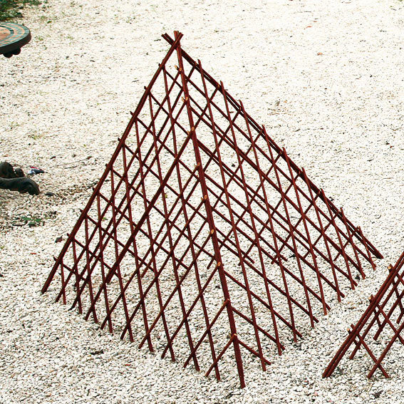 Rankhilef Weidenpyramide Rosenstolz, mittel | #3
