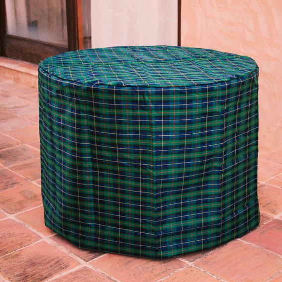 Tisch-Schutzhülle, grün, rund, klein | #3