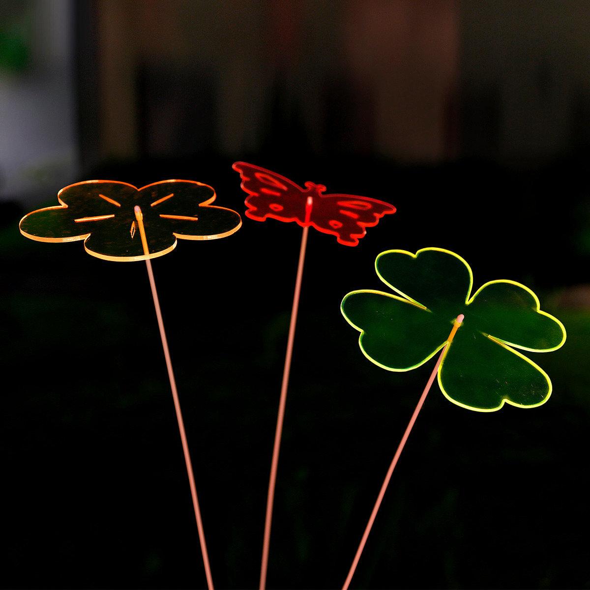 Acryl-Lichtfänger Kleeblatt | #3