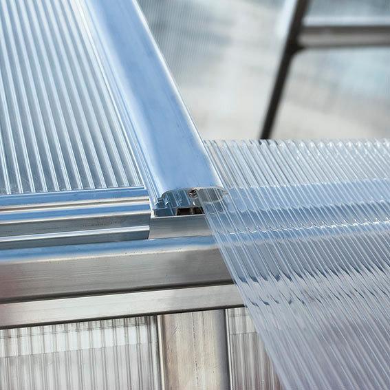 Gewächshaus Essence 8 x 12 inkl. Stahlfundament | #3