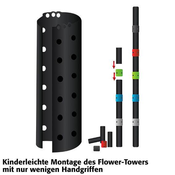 Flower Tower stehend | #3