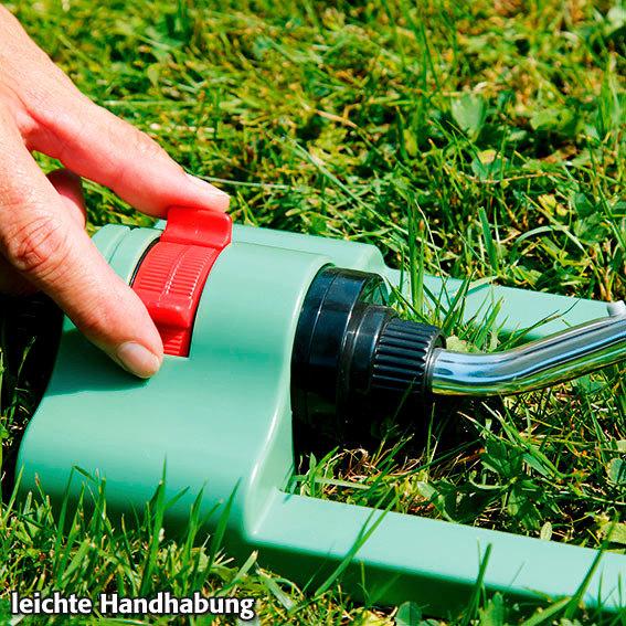 Garten-Viereckregner inkl. Wassertimer | #3