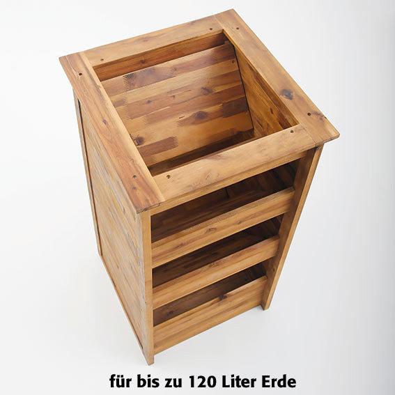 Hochbeet Kräuterturm aus Akazienholz | #3
