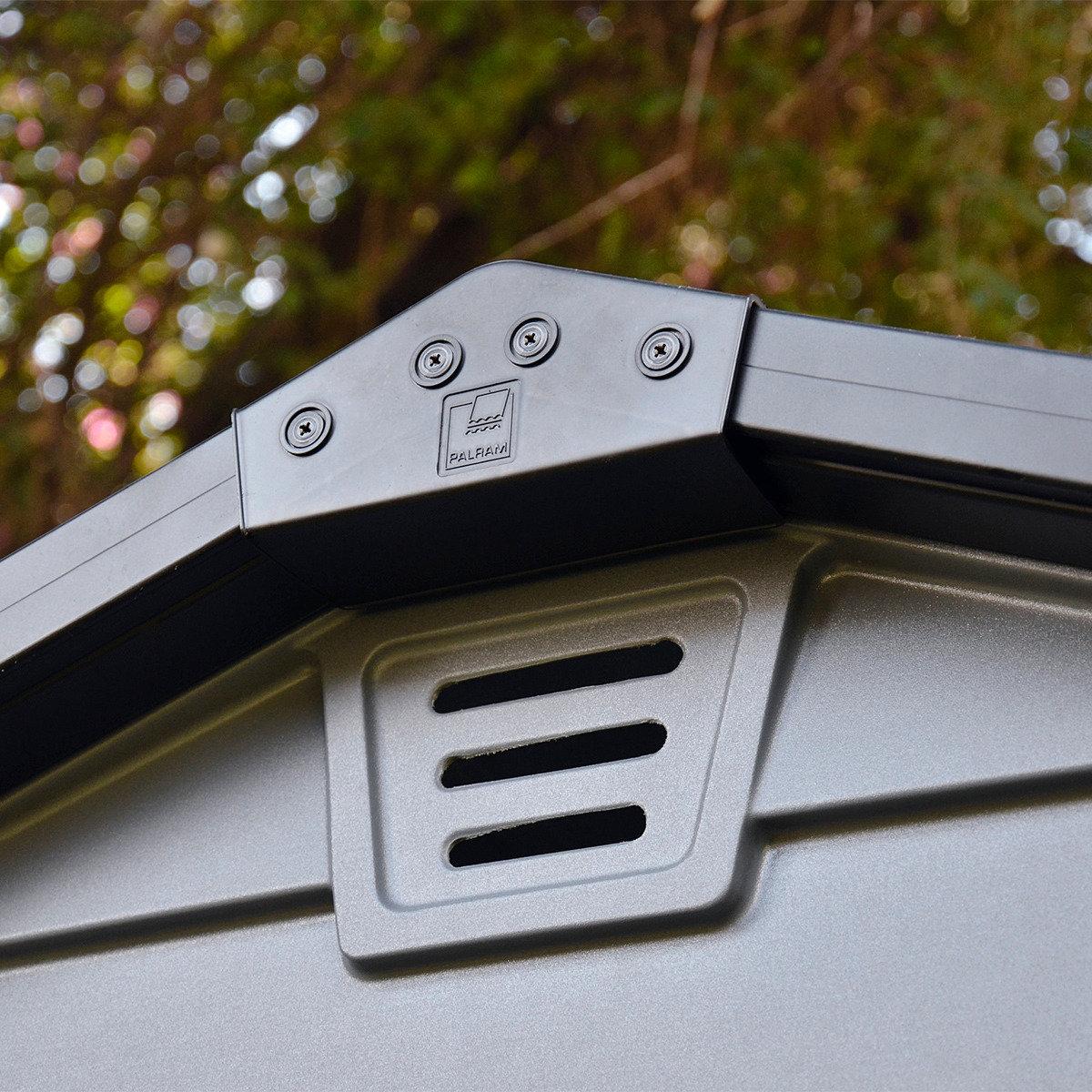 Skylight Gartenschuppen 6x8' grau, inkl. Boden | #3