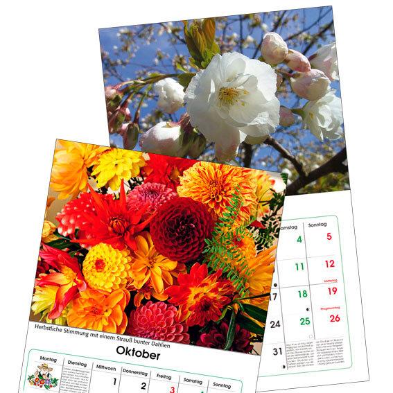 Gärtner Pötschkes Maxi-Blütenkalender | #3