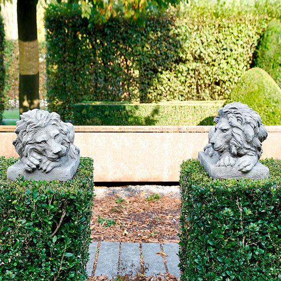 Steinguss figur l we spartacus von g rtner p tschke for Gartendeko neuheiten