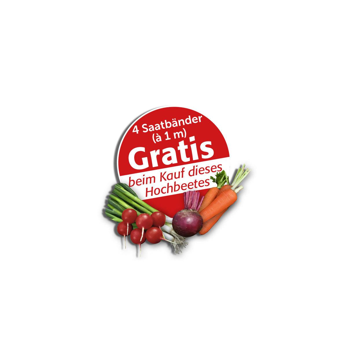 Hochbeet VegTrug, medium inkl. Pflanzvlies | #4
