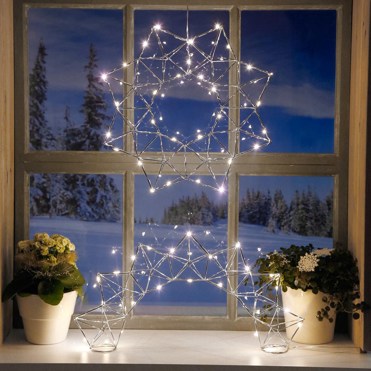 LED-Leuchtstern Modern Christmas, 30 LEDs | #4