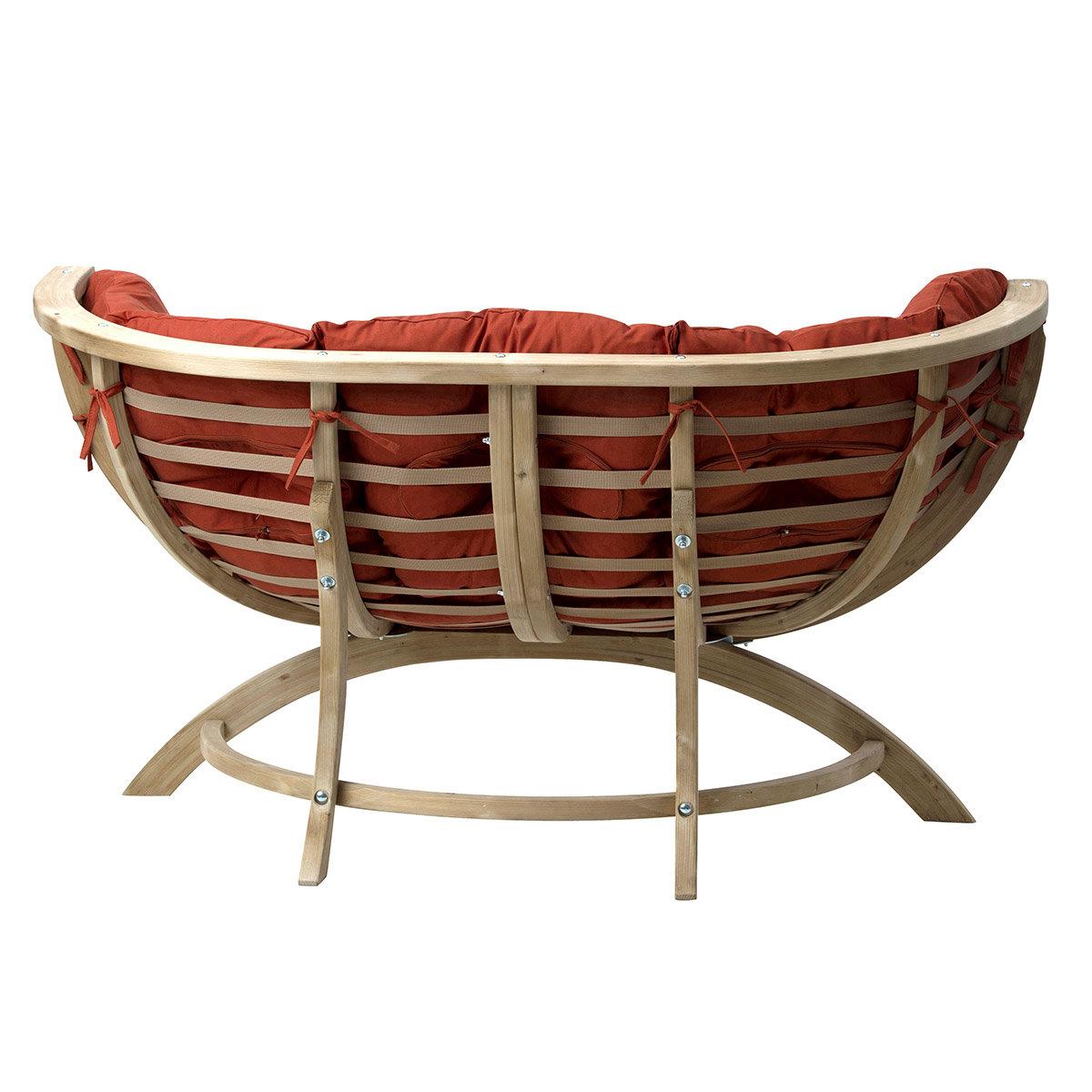amazonas gartensofa siena due terracotta online kaufen bei g rtner p tschke. Black Bedroom Furniture Sets. Home Design Ideas