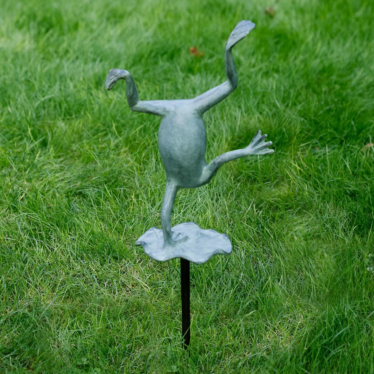 Gartenstecker Frosch Felix | #4