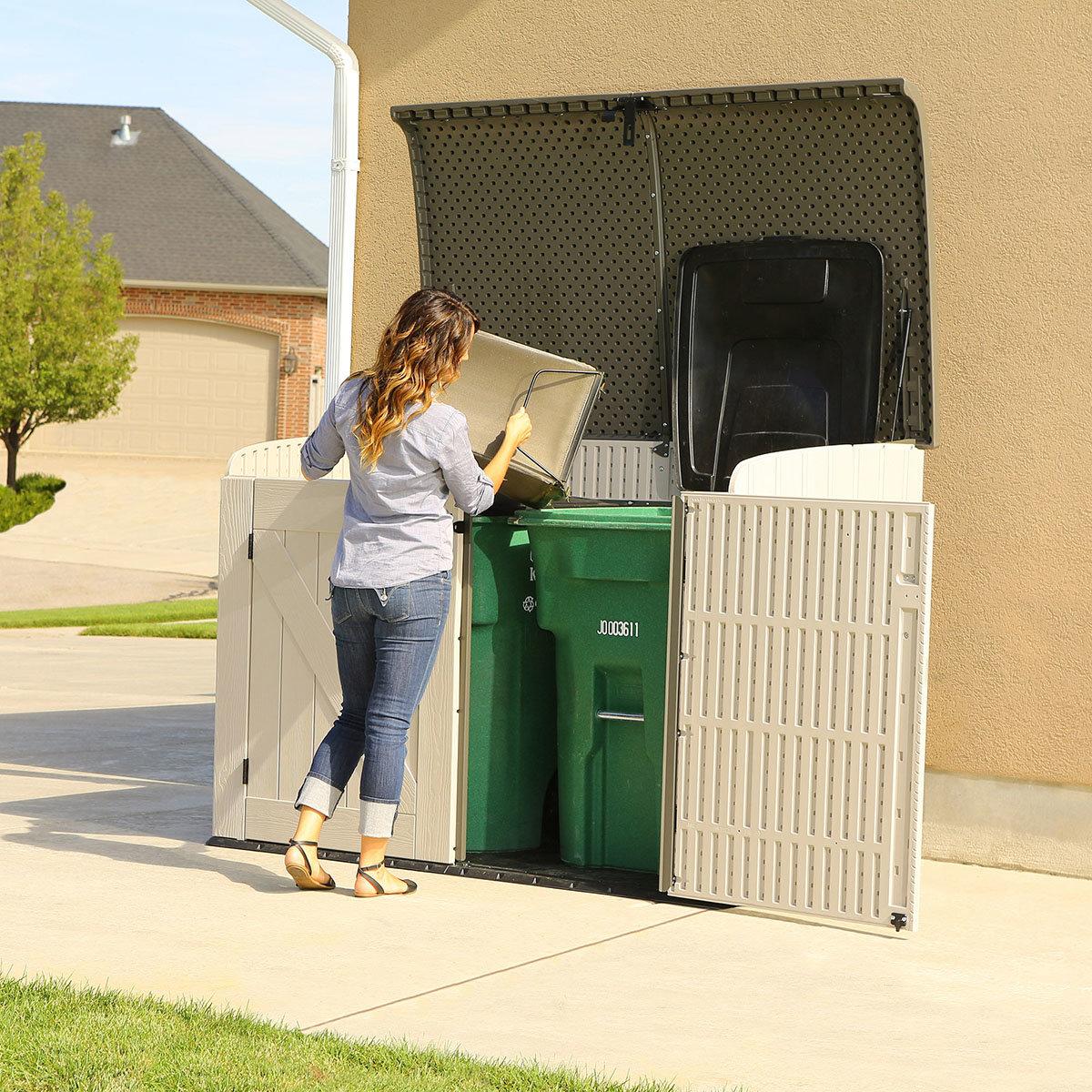 Lifetime Geräte- und Mülltonnenbox | #4