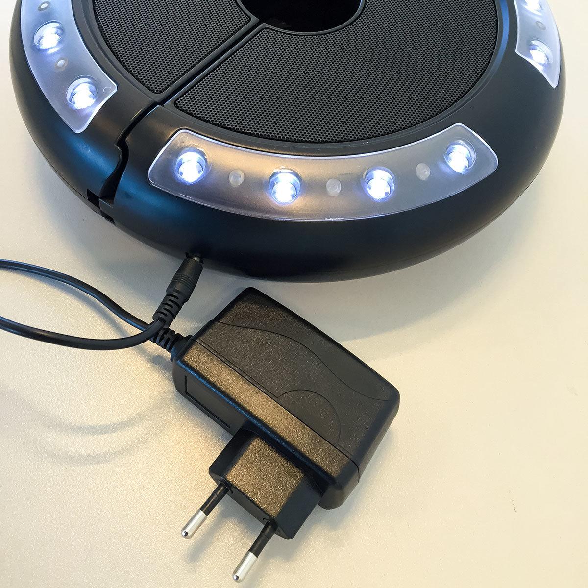 Schirm-Beleuchtung Luna mit Lautsprecher | #4