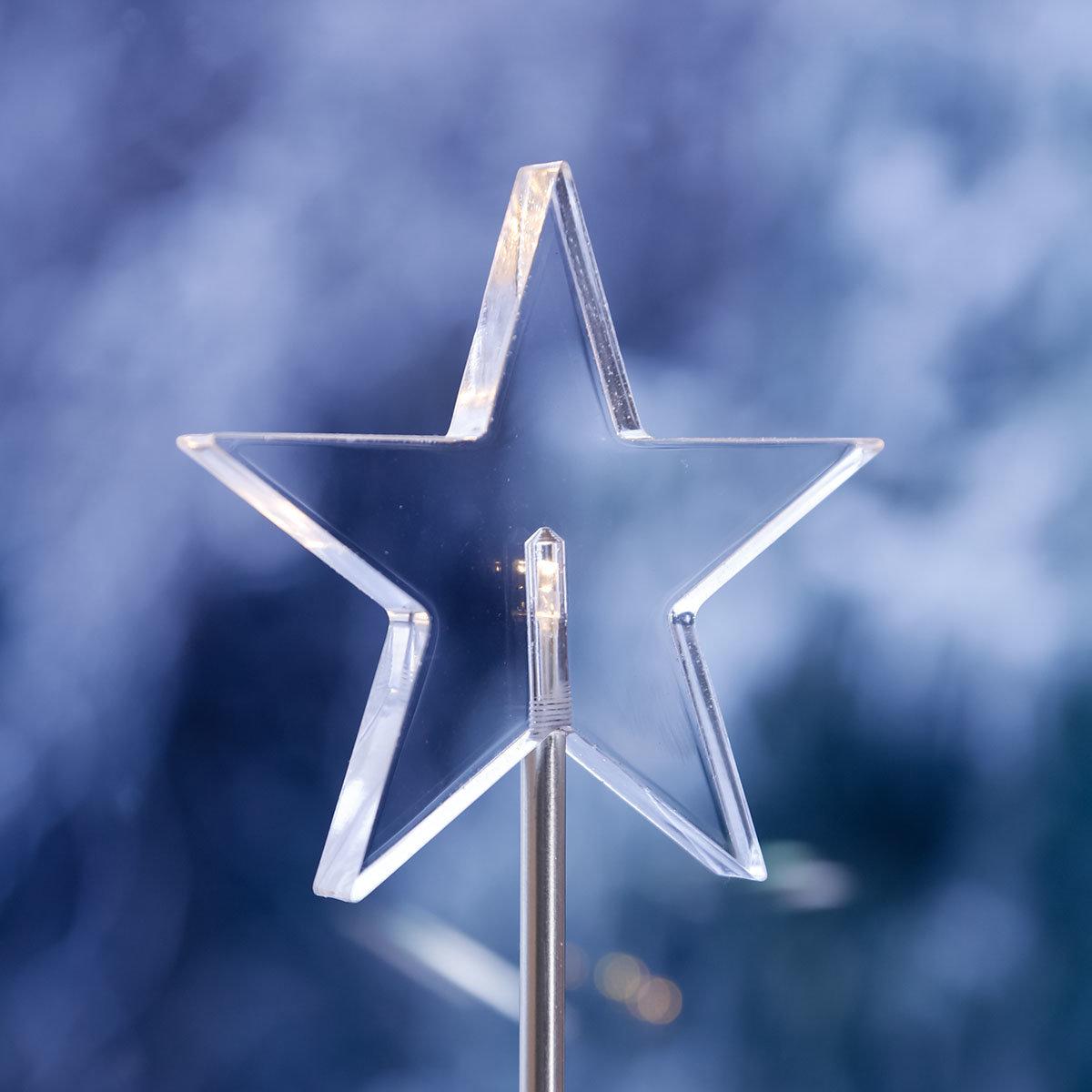 LED-Standleuchte Sterne Trio | #4